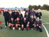 Die Mannschaft bei der Fussballdorfmeisterschaft