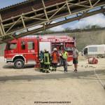 Vermutlicher Kabelbrand Horgen Steinbruch 06.08.2014