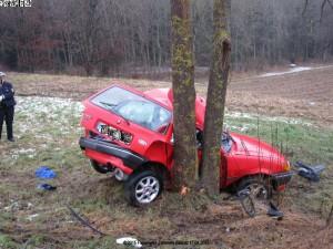 Verkehrsunfall 17.01.2015 B 462 Tannwaldkurve