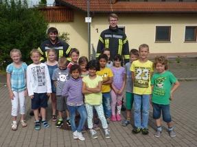 Besuch in der Stettener Grundschule