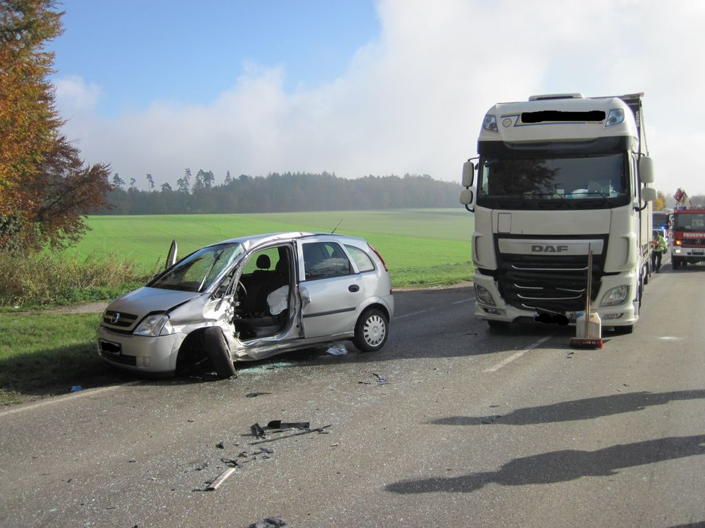 Verkehrsunfall – Zimmern B462 AS RW Richtung B462 Abzw.Lackendorf